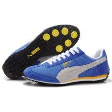 Puma Men Usain Bolt Running Shoes Ingigo/Yellow/White