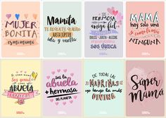 Happy Mothers Day Quotes Mothers Day Printables Quotes For Spanish Mothers Day, Happy Mothers Day, Mother's Day Greeting Cards, Mom Day, Make A Gift, Nice Body, As You Like, Physics, At Least