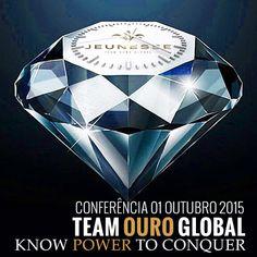 Hoje, dia 1 de Outubro vai decorrer uma apresentação geral do Team Ouro a cerca da nossa empresa Jeunesse. Venham e tragam os seus convidados, uma vez que o seu sucesso esta nas suas mãos.. Horário: 20:00 (horário de Brasília) ou 00:00 (horário de Portugal) Sala de conferência (só clicar):