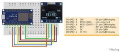 """It's a 1.3""""128x64 OLED of SPI interface, with SH1106 controller.The SH1106 is in general similar to the SSD1306. Main difference is a m..."""