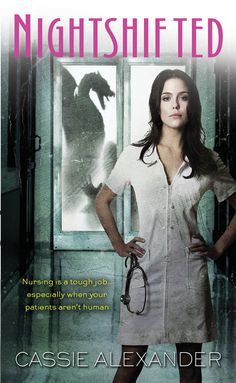 This book was cute. About a night shift nurse who cares for vamps, and other dead things.