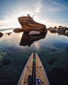 Hey guys, I'm back! It's @hannahbrie for my #GoProGirl takeover.  I'm extremely lucky to now call Lake Tahoe home as it offers everything the outdoor heart could desire right in your own backyard. One of my biggest passions has quickly become an essential way to both explore and recharge here in the mountains. @LakeshoreSup enables me to get out there and truly live my passion without boundaries. #GoPro
