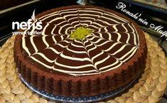 Cotton Tart Cake with Chocolate Sauce - Yummy Recipes - Cotton Tart Cake Recipe with Chocolate Sauce - Brownie Cookies, Cake Cookies, Torta Zebra, Tart, Chocolate Sauce Recipes, Beautiful Cakes, Fresh Fruit, Tiramisu, Cake Recipes