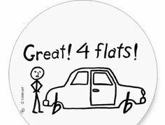 4 flats!