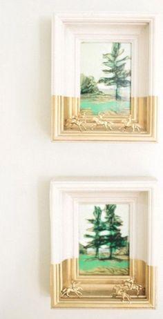 25 Unique DIY Wall Art Ideas (With Printables) Repurposed Furniture Art DIY ideas Printables Unique wall Art Diy, Diy Wall Art, Wall Decor, Diy Wand, Decorating Small Spaces, Decorating Ideas, Decor Ideas, Art Ideas, Interior Decorating
