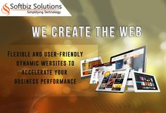Dynamic Web Design Services: http://www.softbiztech.com/dynamic-web-design.html