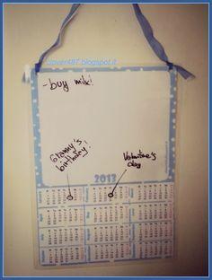 Clover's free calendar!