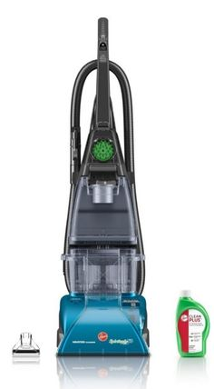 Deal of the Day: Save 58% off Hoover SteamVac Carpet Cleaner with Clean Surge for 11/20/2015 only!   Hoover SpinScrub rotating brushes groom carpet fibers from all sides to lift away dirt and grime, so you can deep clean carpets and upholstery any time you need to. List Price:$179.99 Deal of the Day:$75.00 & FREE Shipping. You Save:$104.99 (58%) Powerful 12-amp motor; deep cleans with hot tap water and carpet solution Five spinning/scrubbing brushes clean carpets, upholstery,>>>>