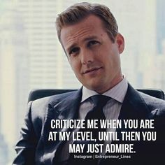 Suits is over, But these 56 Harvey Specter quotes will forever motivate you Quotes About Attitude, Badass Quotes, Best Quotes, Harvey Spectre Zitate, Harvey Specter Suits, Suits Harvey, Quotes To Live By, Life Quotes, Leadership