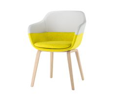 crona Armchair 6367/A by Brunner | Visitors chairs / Side chairs