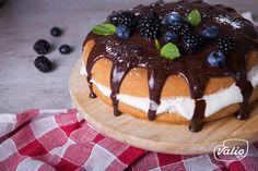 Бисквитный торт - пошаговый рецепт приготовления с фото Pudding, Cake, Desserts, Recipes, Food, Tailgate Desserts, Deserts, Puddings, Mudpie