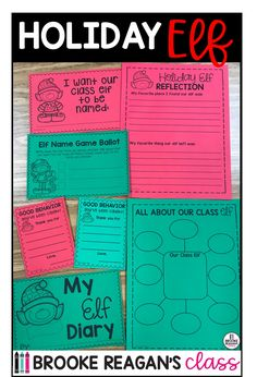 Holiday classroom elf is the perfect addition to your classroom for the holiday season! Add fun and engaging behavior mangagement system to your classroom that your students will enjoy each day!