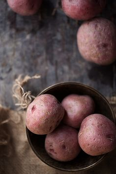 Red Potatoes | #foodphotography