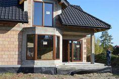 Projekt domu Śnieżka N 129,49 m2 - koszt budowy 220 tys. zł - EXTRADOM House Plans 2 Storey, Design Case, Home Fashion, Exterior, House Design, How To Plan, House Styles, Outdoor Decor, Big