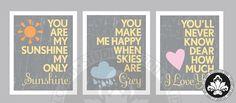 you make me happy... nursery-ideas