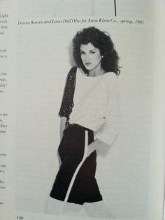 Donna Karan for AnneKlein spring 1981 :-)