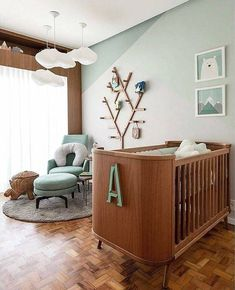 Baby Room Themes 56 Beautiful and Thematic Inspirations Baby Room Themes, Baby Room Decor, Baby Bedroom, Baby Boy Rooms, Luxury Homes Interior, Home Interior Design, Simple Interior, Classic Interior, Baby Room Design