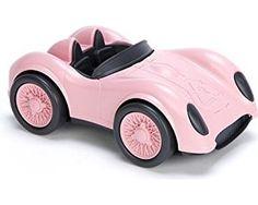 Green Toys Race Car, Pink