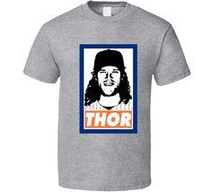Noah Syndergaard Thor Big Sexy Parody NY New York Baseball Pitcher Fan T Shirt