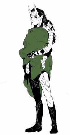 Jotun Loki by murger Loki Art, Thor X Loki, Marvel Art, Marvel Dc Comics, Marvel Avengers, Loki Jotun, Spideypool, Fandoms, Loki Laufeyson