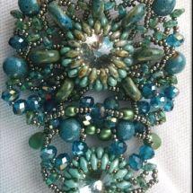 Ciondolo Perline, Beading Pendant - by machegioia®