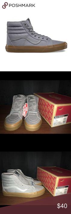 Vans Sk8 Reissue Vans Sk8 Reissue  Canvas/Gum Grey/Gum Vans Shoes
