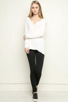 Brandy ♥ Melville | Pandora Top - Tops - Clothing