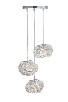Buy Venetian 3 Light Cluster from the Next UK online shop