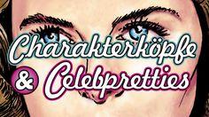 """Ausstellung """"Charakterköpfe&Celebpretties"""" im Modernen Theater Vorspann ..."""