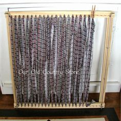 Recently, I Asked John If Heu0027d Make A Rag Rug Loom For A