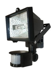 Outdoor Floodlight With PIR Sensor UNDER £10!