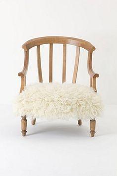 Flokati Garvey Chair | Anthropologie.eu