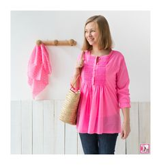 Passion Smocks - kankan&co Smocks, Isabelle, Doll Clothes, Tunic Tops, Couture, Lady, Women, Fashion, Tunic