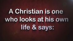 What is a True Christian in Jesus Christ our Lord God and Savior