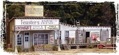 Black Forest® Hobby Supply Co - FENSTER'S FARM FRESH MARKET 171-142 - HO SCALE, $62.96 (http://www.blackforesthobby.com/fensters-farm-fresh-market/)