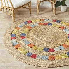 Discover thousands of images about Handmade Jute Rug Natural Jute Round Indian Braided Rag Rug Round Floor Rug Rug Indian Handwoven Ribbed Solid Area Rugs, Beautiful Floor Rug