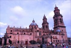 Catedral Morelia Michoacan by Mel Figueroa