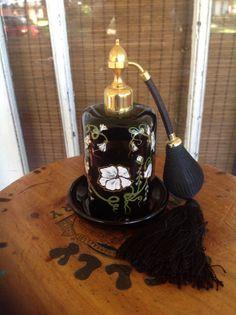 Vintage women's perfume bottle. Marcel Franck. Made in France. Very rare