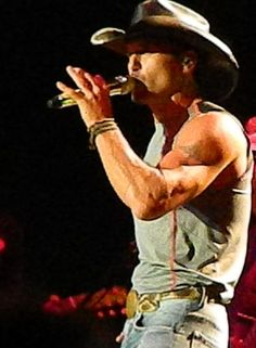 Country Music Artist: Tim McGraw  Photo taken on Sept. 2, 2013 in St. Paul, MN by Nikki Pals