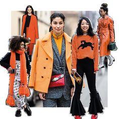 De fashioncrowd valt bij bosjes voor indian summer vibes. Vier de nazomer met de kleur burnt orange! Deze dames doen het je voor  #marieclaire #fashiontrends #indiansummer #styleguide  via MARIE CLAIRE NL MAGAZINE MAGAZINE OFFICIAL INSTAGRAM - Celebrity  Fashion  Haute Couture  Advertising  Culture  Beauty  Editorial Photography  Magazine Covers  Supermodels  Runway Models