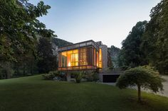 alexander diem villa am see by the lake designboom