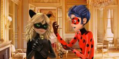 Chat Noire and Ladybug by on DeviantArt