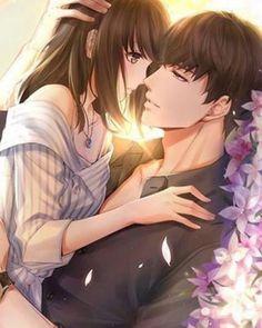 Couple Anime Manga, Anime Cupples, Romantic Anime Couples, Anime Couples Drawings, Anime Love Couple, Anime Couples Manga, Anime Couples Cuddling, Anime Couples Hugging, Anime Kiss