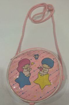 Vintage Little Twin Stars Sanrio bag made in Japan 1986 by TownOfMemories on Etsy