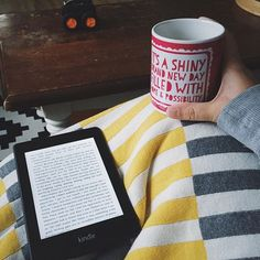 How my Sunday is panning out reading and mugs of tea under blankets