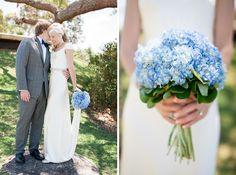Blue Hydrangeas = perfect
