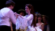Raoul and Christine | Curtain Call | The Phantom of the Opera | Stage Production | 25th Anniversary | Hadley Fraser and Sierra Boggess | GIF | :D