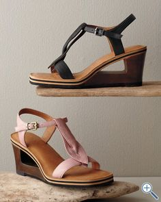 Gentle Souls Pine Heart Wedge Sandals, #garnethill #summerstyle