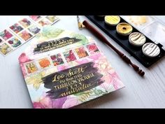 DIY Envelope Made with a Coloring Book Page - YouTube