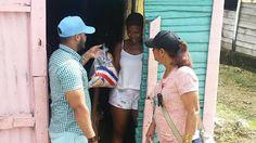 en directo: Gobierno Dominicano continua entrega de alimentos ...